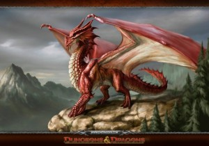 Dragon rouge, Donjons et dragons