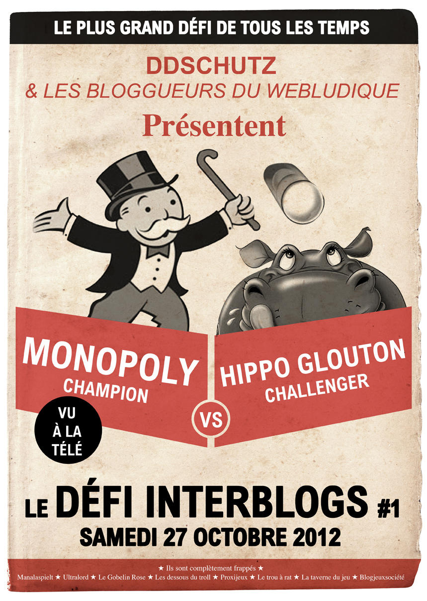 Hippo Gloutons vs Monopoly