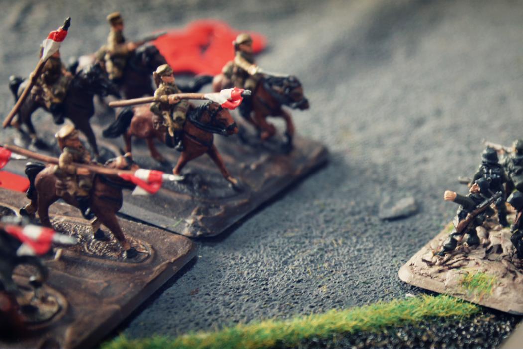 FLAMES OF WAR - La charge de Krojanty