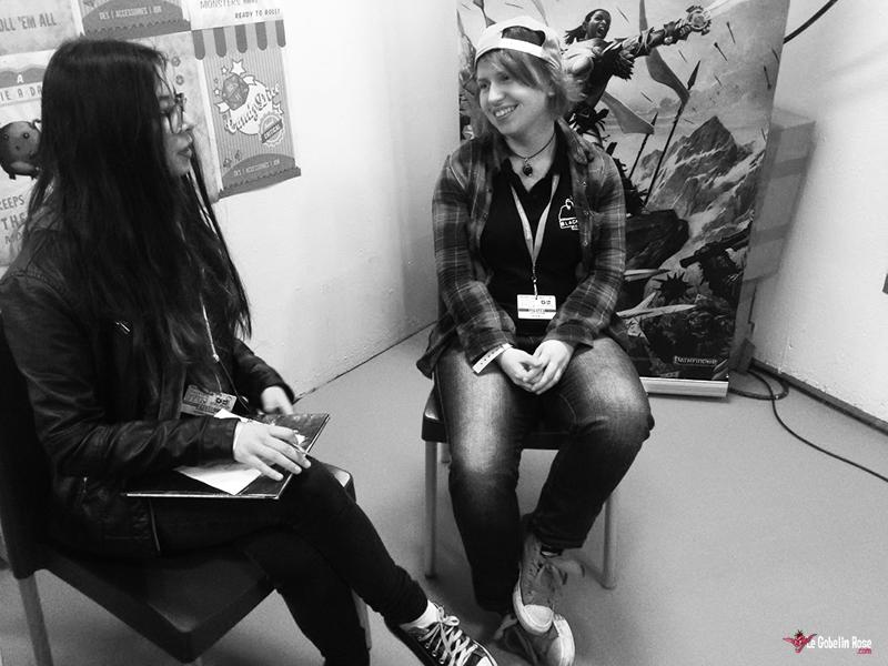 Premiers pas d'une jeune rôliste au FIJ 2016